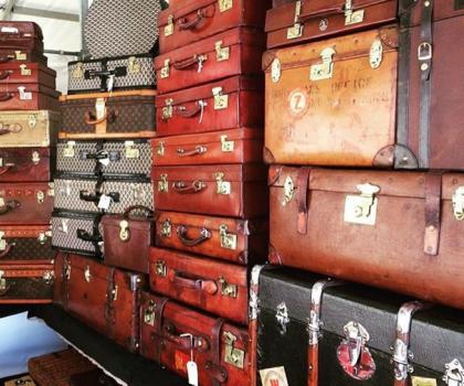 London Vintage Luggage